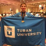 Студент университета «Туран» победил на международном турнире «USA Open 2018 Las Vegas Karate Tournament»